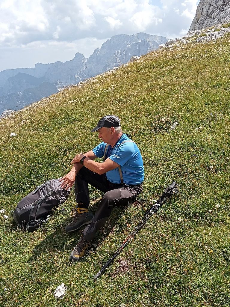 FOTOREPORTAŽA : PD na Razorju in Škrlatici 14. in 15.8.2021