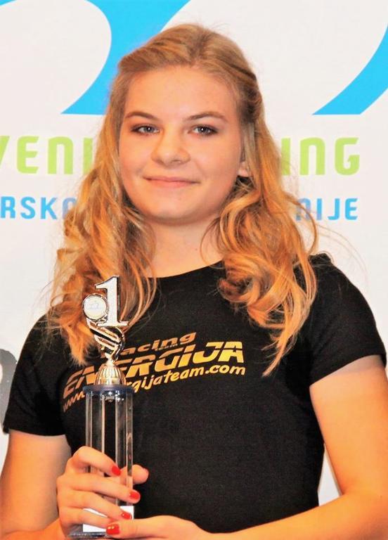 Vita Movrin je bila v sezoni 2016 med mladinkami neporažena