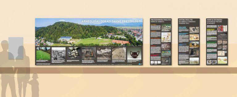 Razstava Arheološki dokazi o davni preteklosti na območju Osnovne šole Mengeš