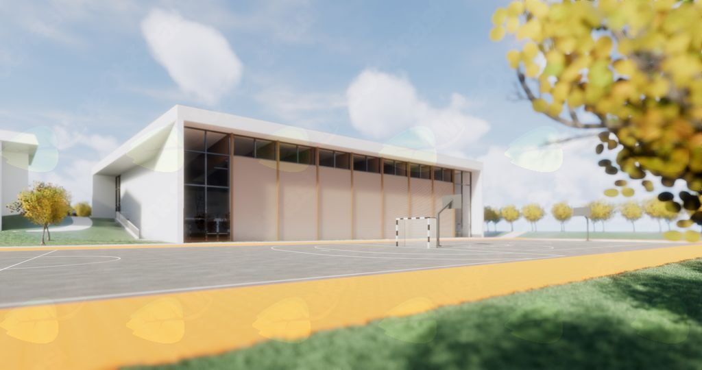 STA objavila novico o gradnji večnamenske športne dvorane Mengeš: Mengeš z gradnjo športne dvorane rešuje prostorsko stisko šole