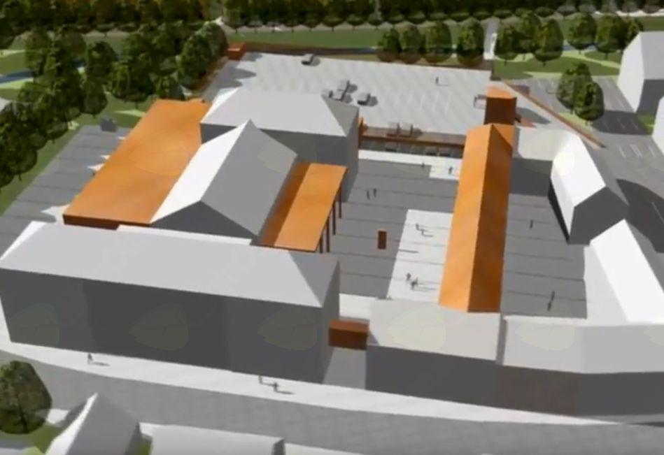 Pogled na izhodišča za ureditev mestnega središča Mengša