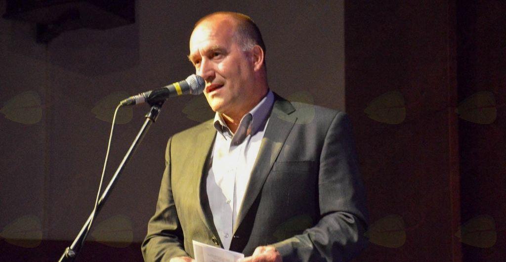 Zbrane je pozdravil župan Občine Mengeš Franc Jerič.