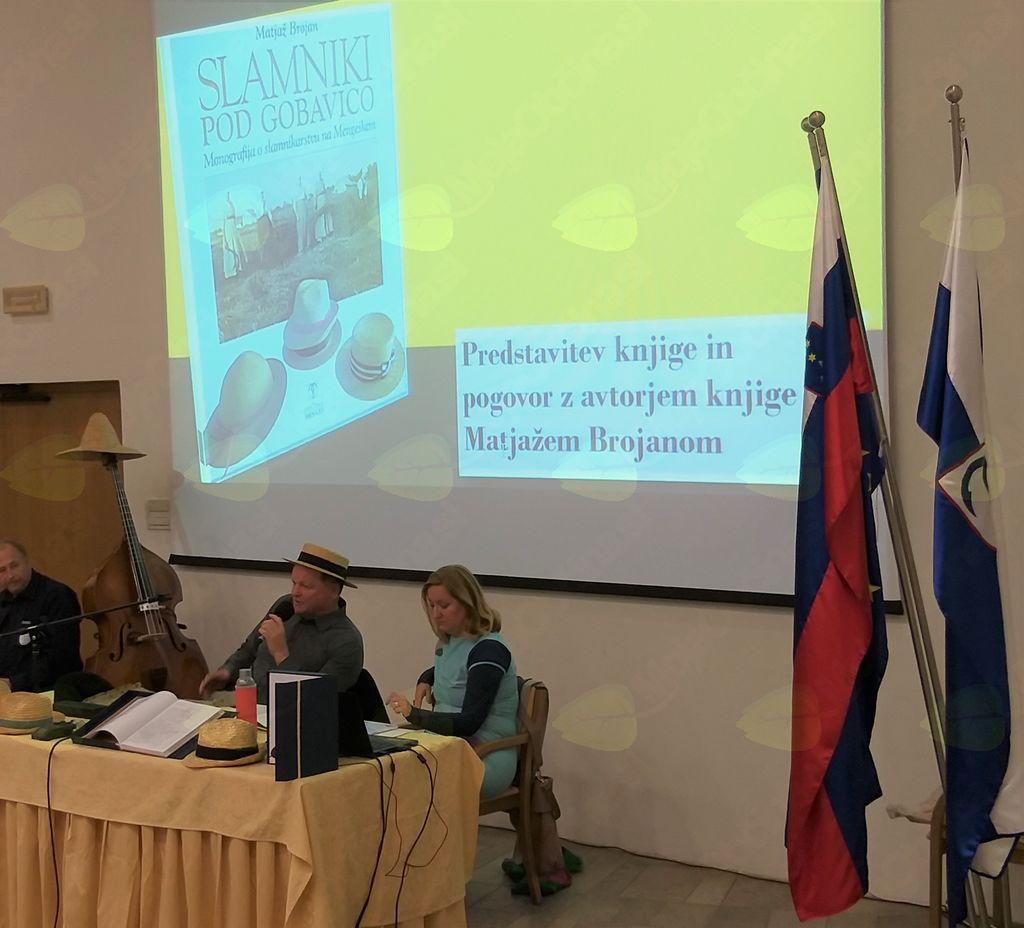 Predstavitev je z odgovori in opisi v pogovoru z Natašo Vrhovnik Jerič, ki je knjigo poimenovala za »novo razglednico občine Mengeš«, začinil avtor Matjaž Brojan