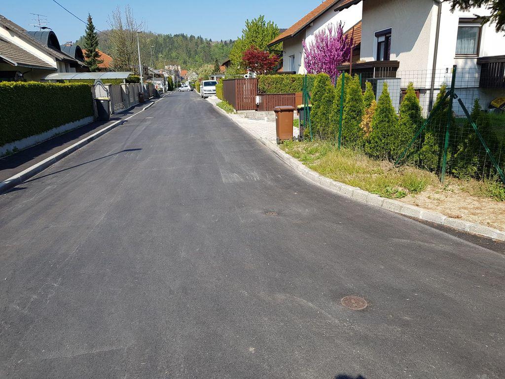 Na Janševi ulici je bil obnovljen glavni vod vodovoda v dolžini 280 metrov in 25 hišnih priključkov.