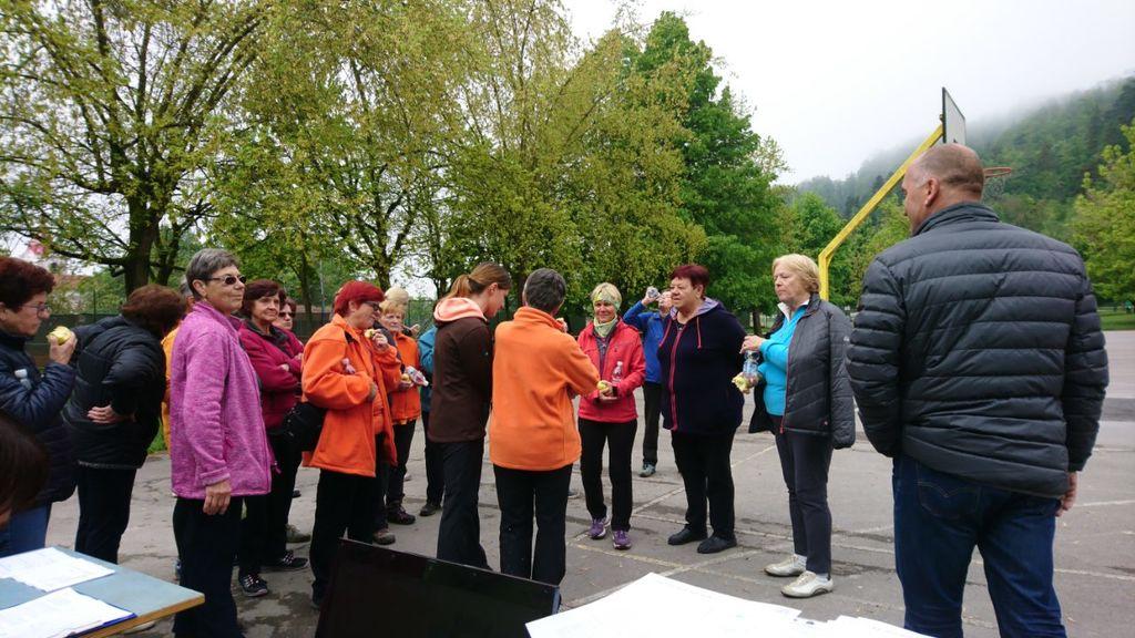 Udeležence in organizatorje Festivala zdravja v Mengšu je obiskal tudi Franc Jerič, župan Občine Mengeš