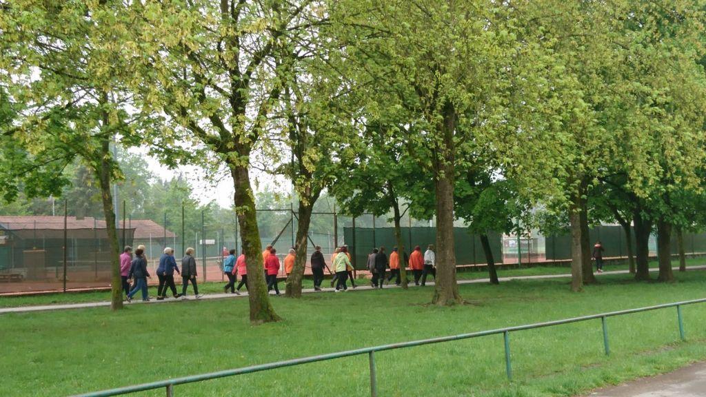 Petkovo sončno dopoldne nam je omogočilo popolno izvedbo Testa hoje na 2 km