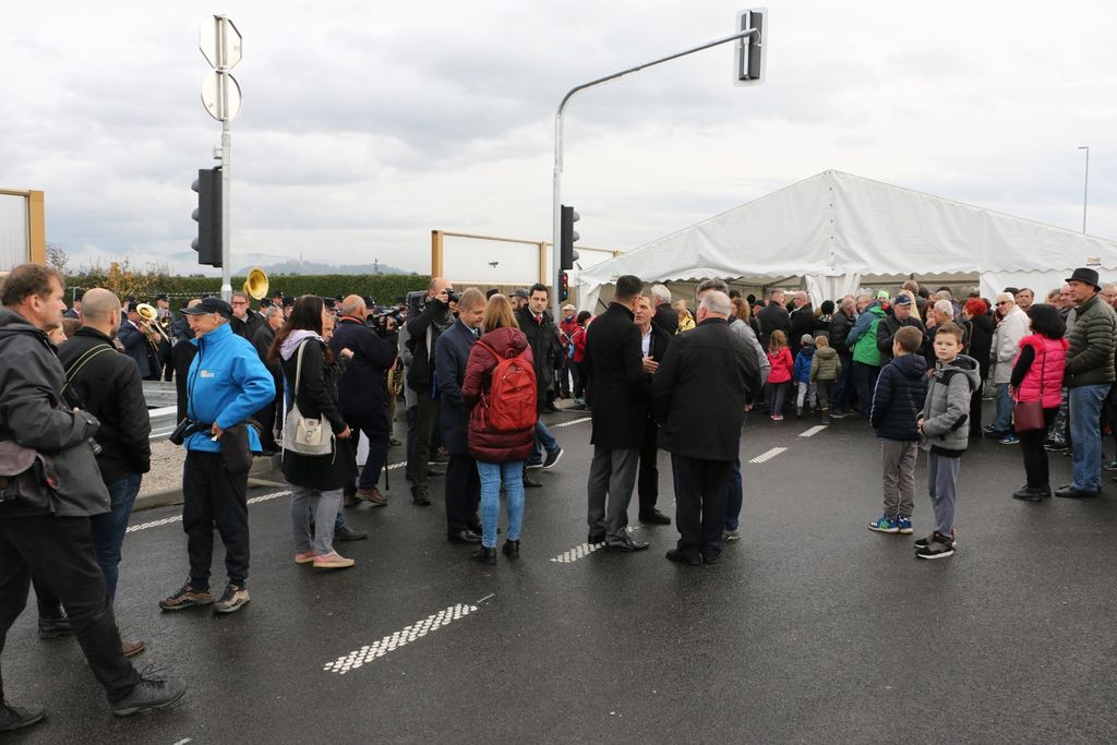 Težko pričakovana obvoznica Mengeš je odprta za promet