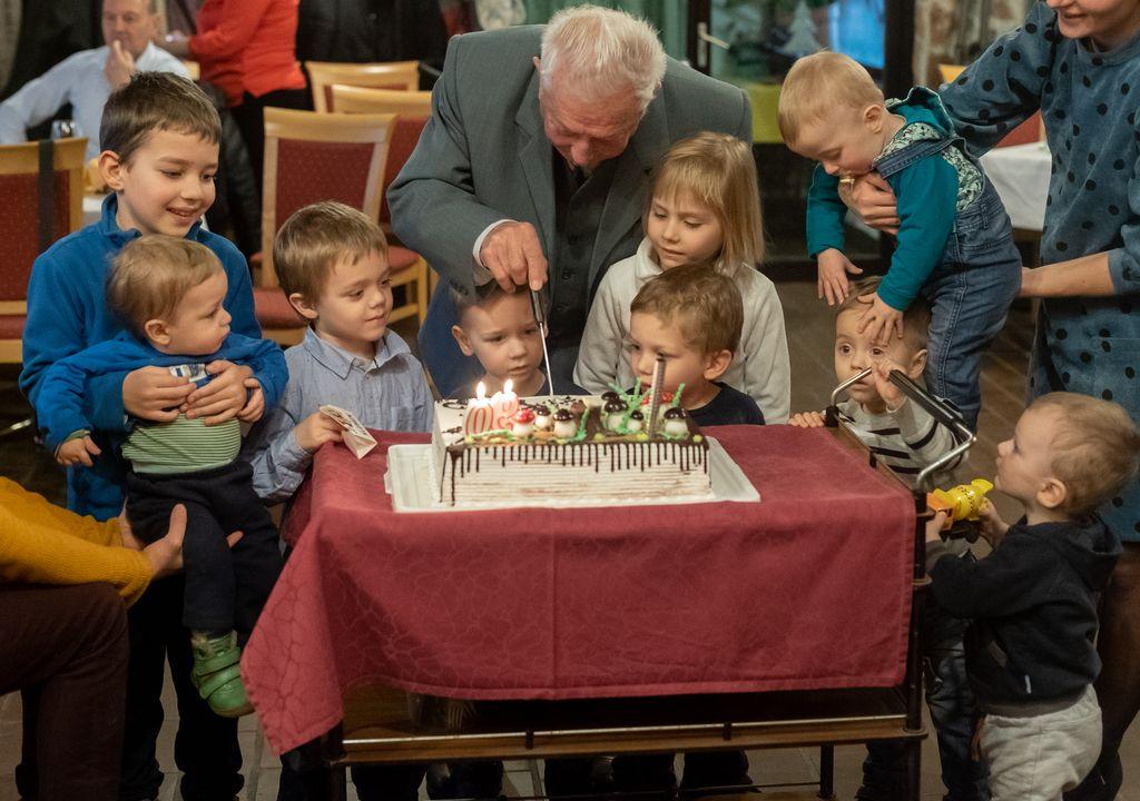 Z družino so rojstni dan praznovali na Mengeški koči.