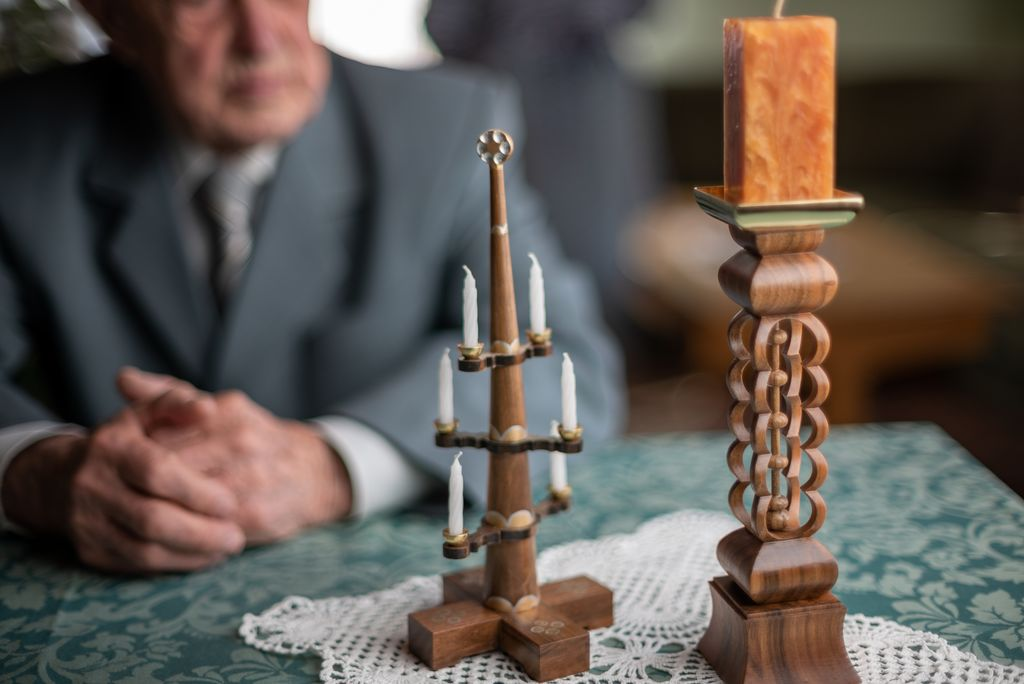 Peter Krušnik je zapisan lesarstvu vse od mladosti.