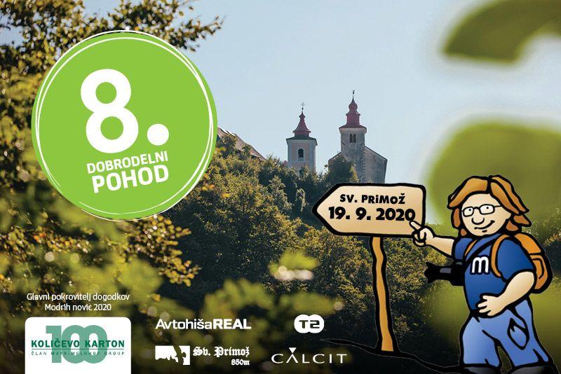 V soboto bodo pohodniki in sponzorji dobrodelnega pohoda na Sv. Primož zbirali sredstva in jih namenili za Šolski sklad OŠ Mengeš.