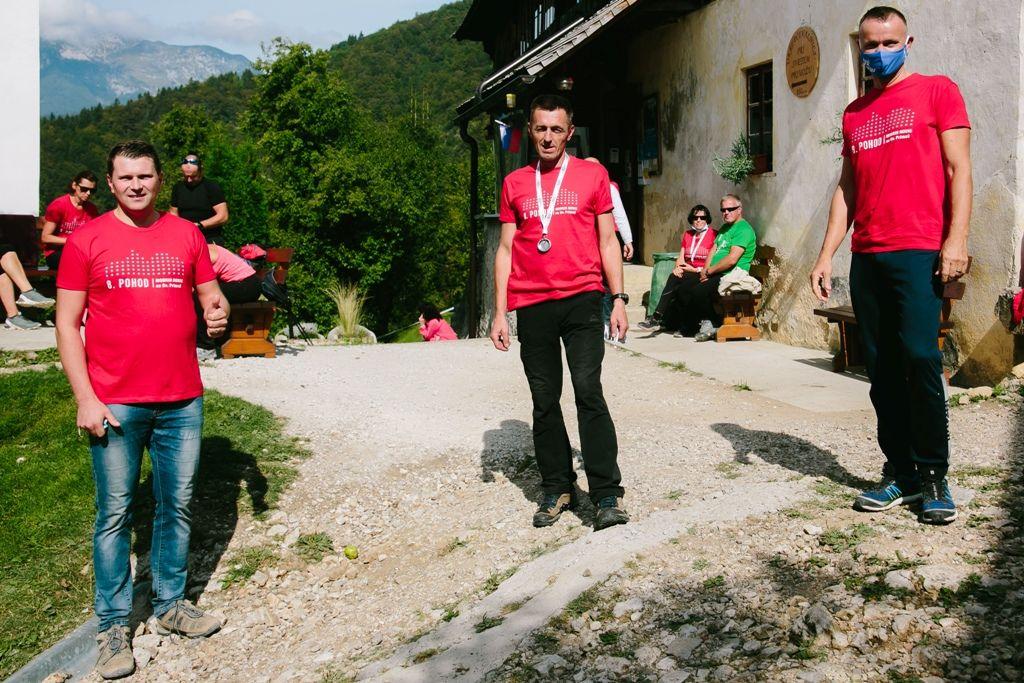 Dobrodelni pohod na Sv. Primoža je tako kot vsako leto podprl tudi Matej Slapar, župan Občine Kamnik.