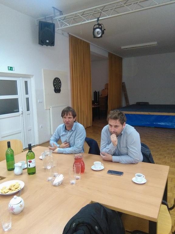 Kava z Županom občine Duplek in Direktorjem Doma Danice Vogrinec