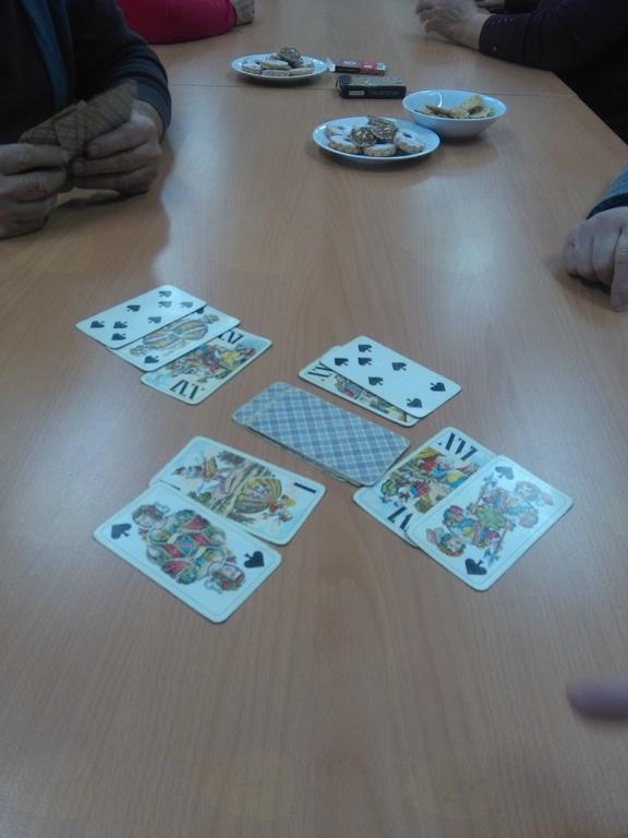 Kartanje in druge družabne igre