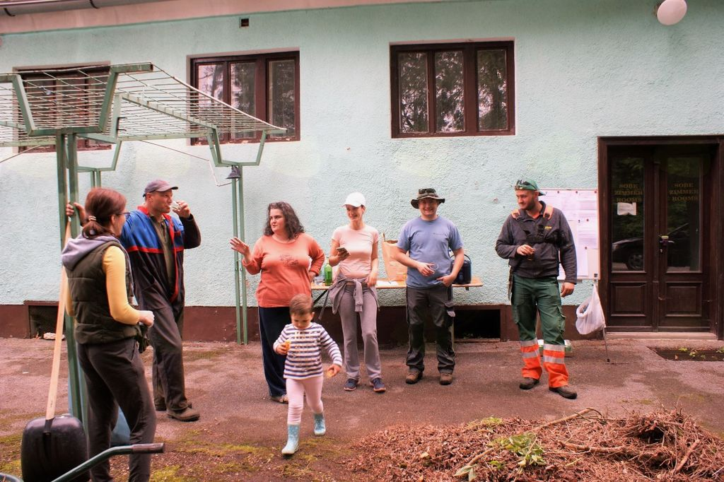 Čistilna akcija grad Borl 2017 je uspela