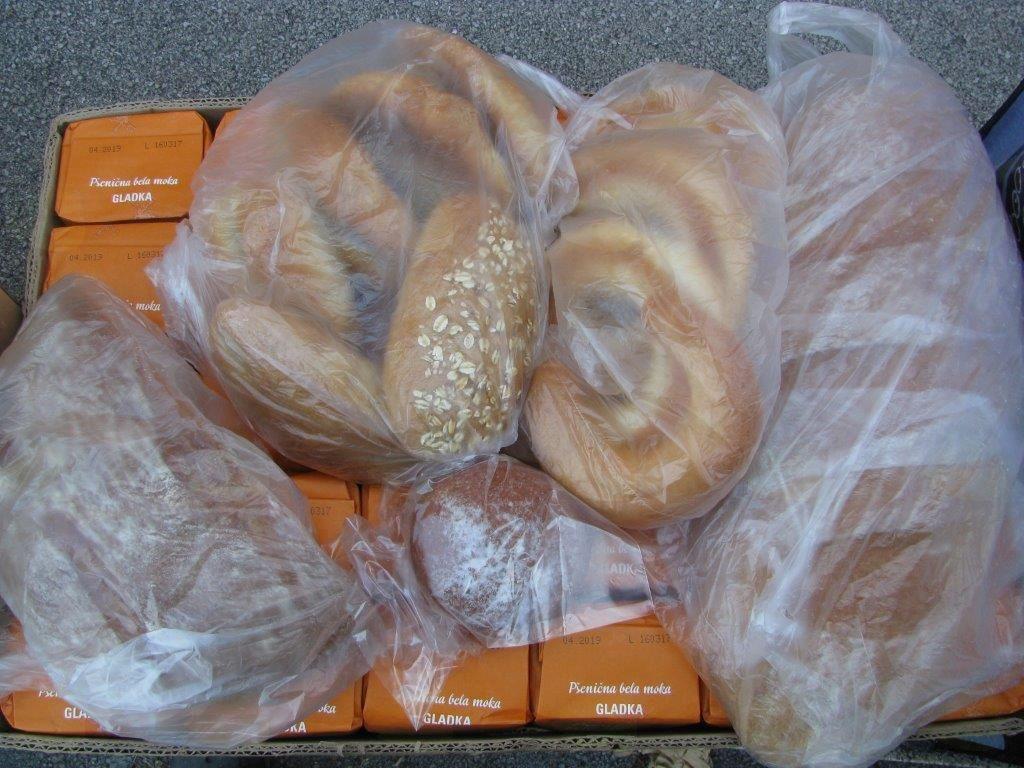 donacija LIDL in pekarna Hrovat