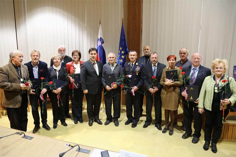 Kvintet Aeternum nastopil v Državnem svetu