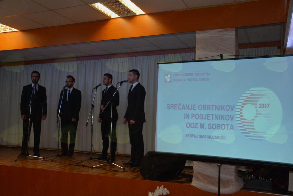 Aeternum z nastopom popestril 13. srečanje obrtnikov OZ Murska Sobota