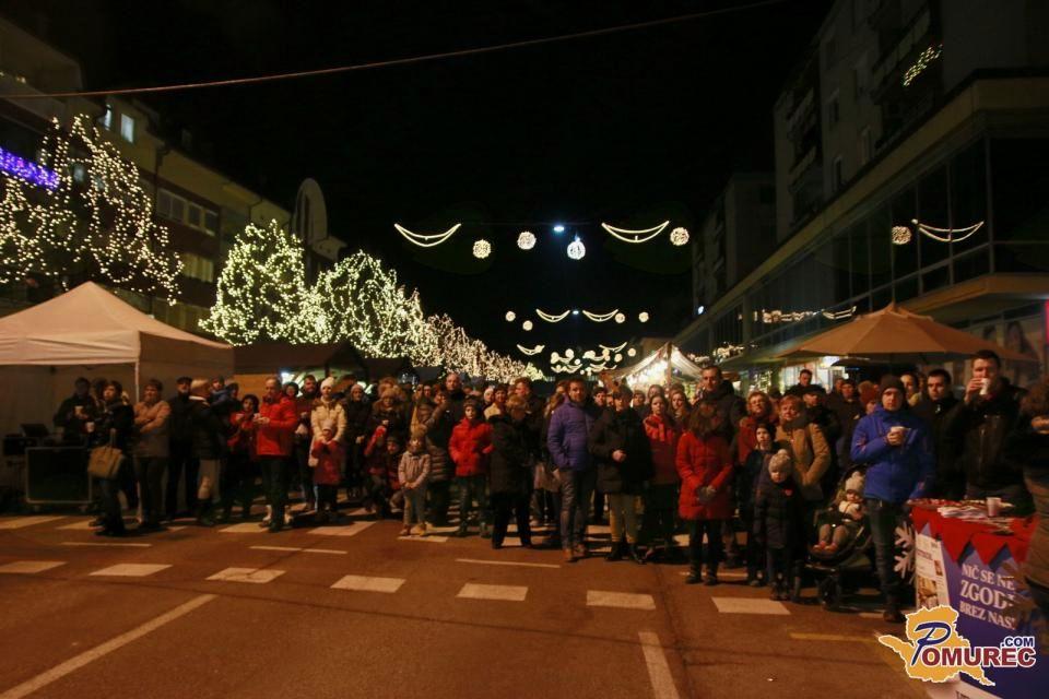 Drugi dan Božičnega senja v Murski Soboti popestril Aeternum
