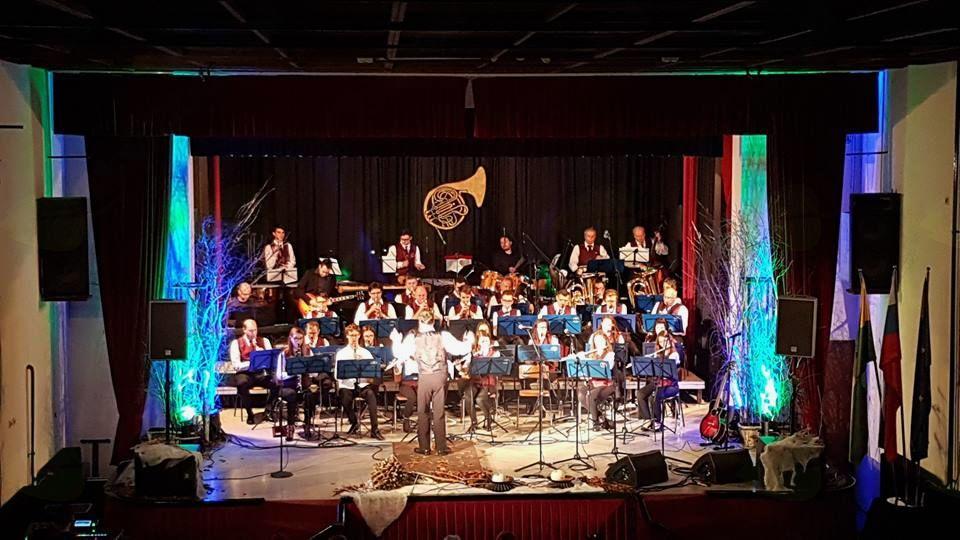 Aeternum zapel na koncertu Pihalnega orkestra Gornja Radgona