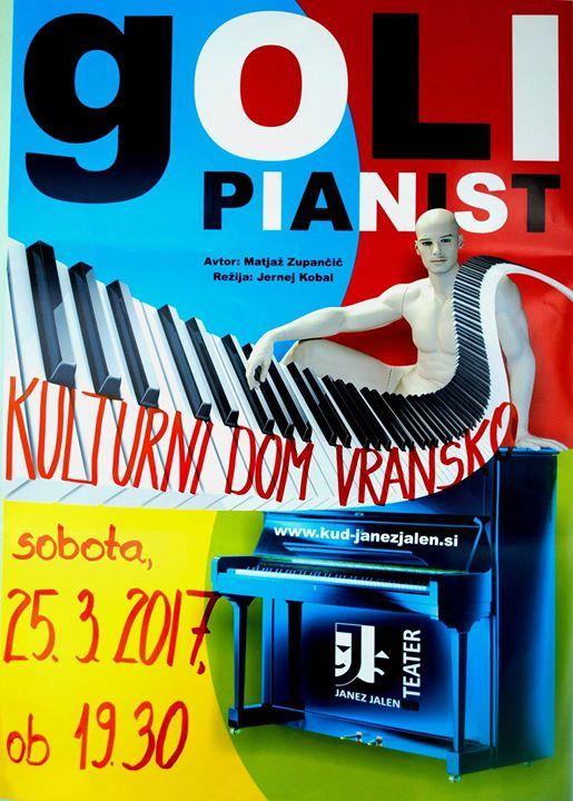 GOLI PIANIST - gledališka predstava (komedija)