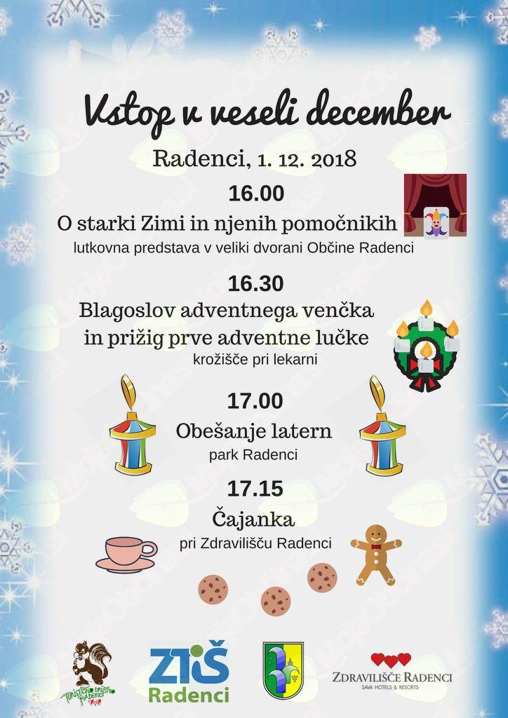 Vstop v veseli december