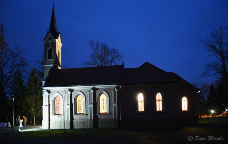 Kapelica Sv. Ane v parku Radenci