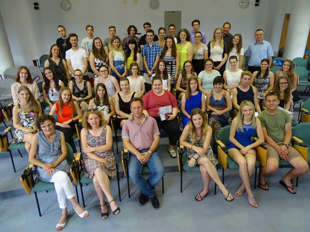 Na ŠGV 7 zlatih maturantov, Aljaž Bratina z vsemi točkami