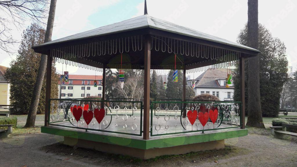 Zimske radosti v parku Radenci