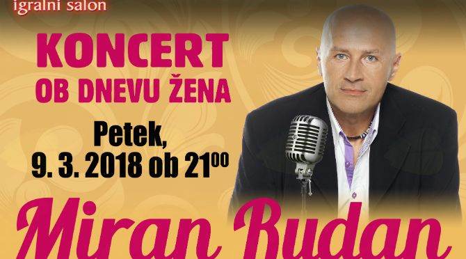 Koncert ob dnevu žena v Casino As Radenci