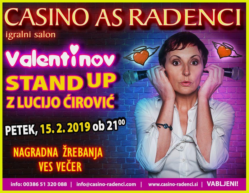 Valentinov Stand up z Lucijo Ćirović