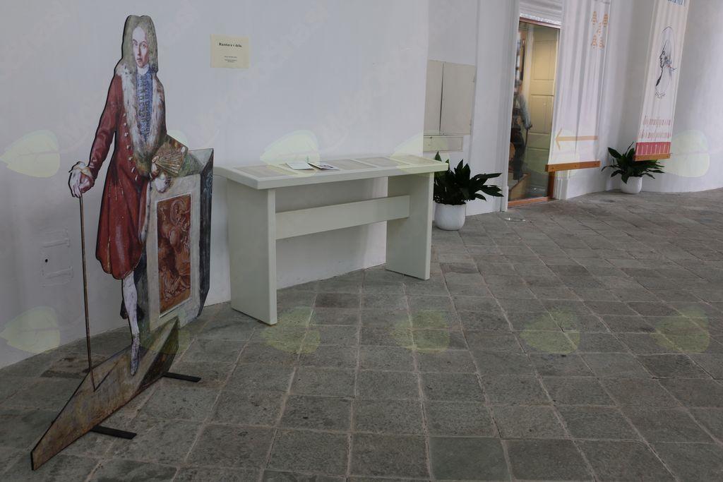 Predstavitev taktilne razstave o Frančišku Karlu Rembu