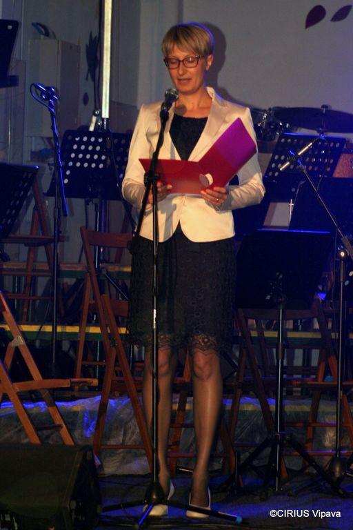 ravnateljica CIRIUS Vipava, ga. Kristina Bratina