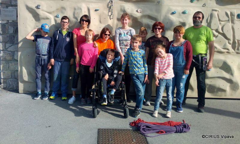 Plezali smo v kampu TURA