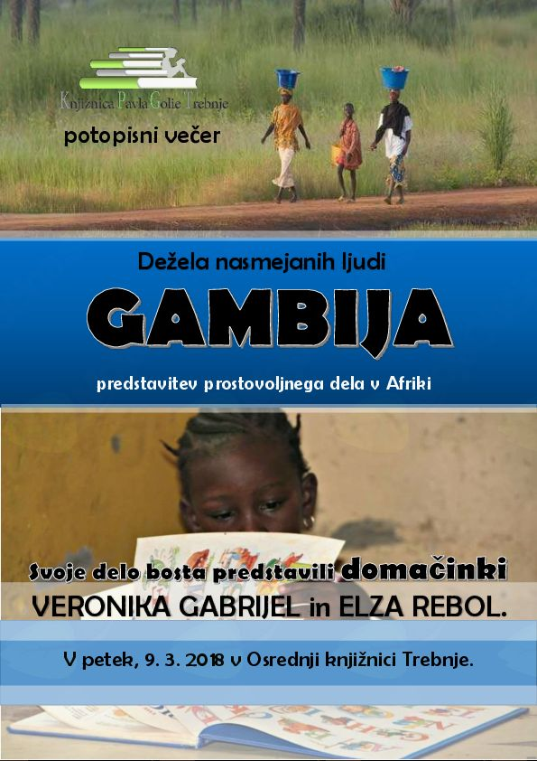 Gambija - potopis Veronike Gabrijel in Elze Rebol