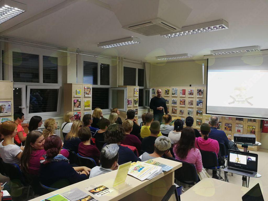 Predavanje Gašperja Groma o LCHF prehrani