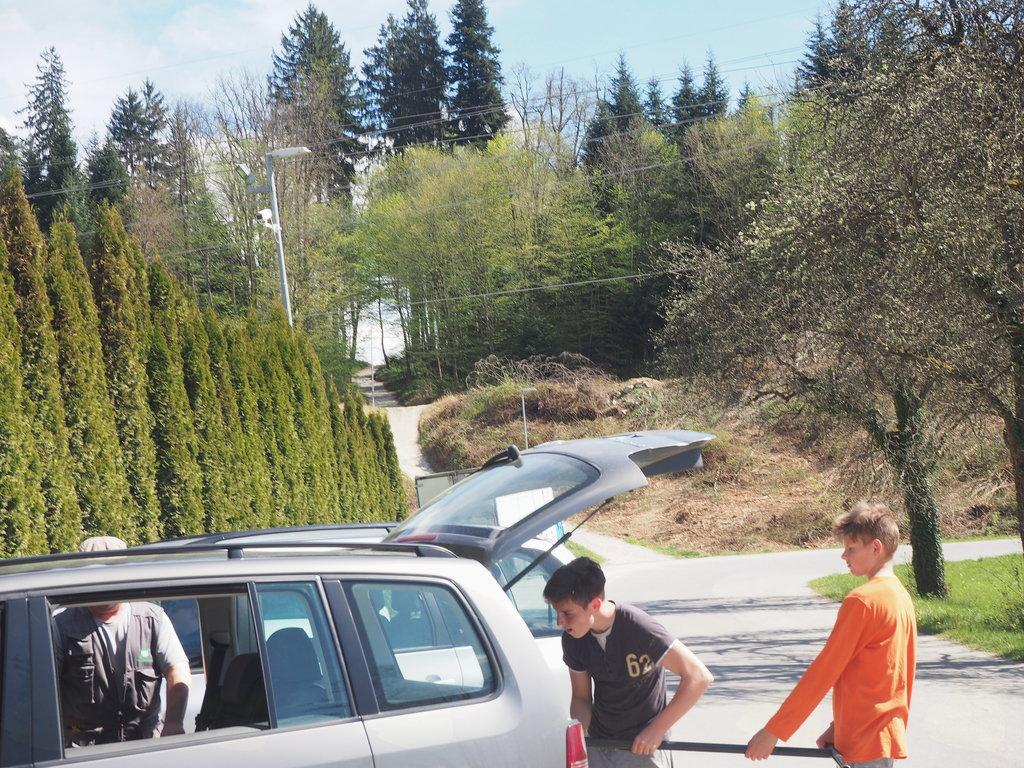 Občni zbor ŠTD Rafolče ter delovna in čistilna akcija