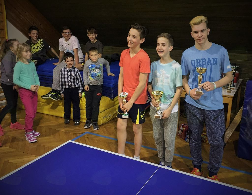 13. turnir ŠTD Rafolče v namiznem tenisu