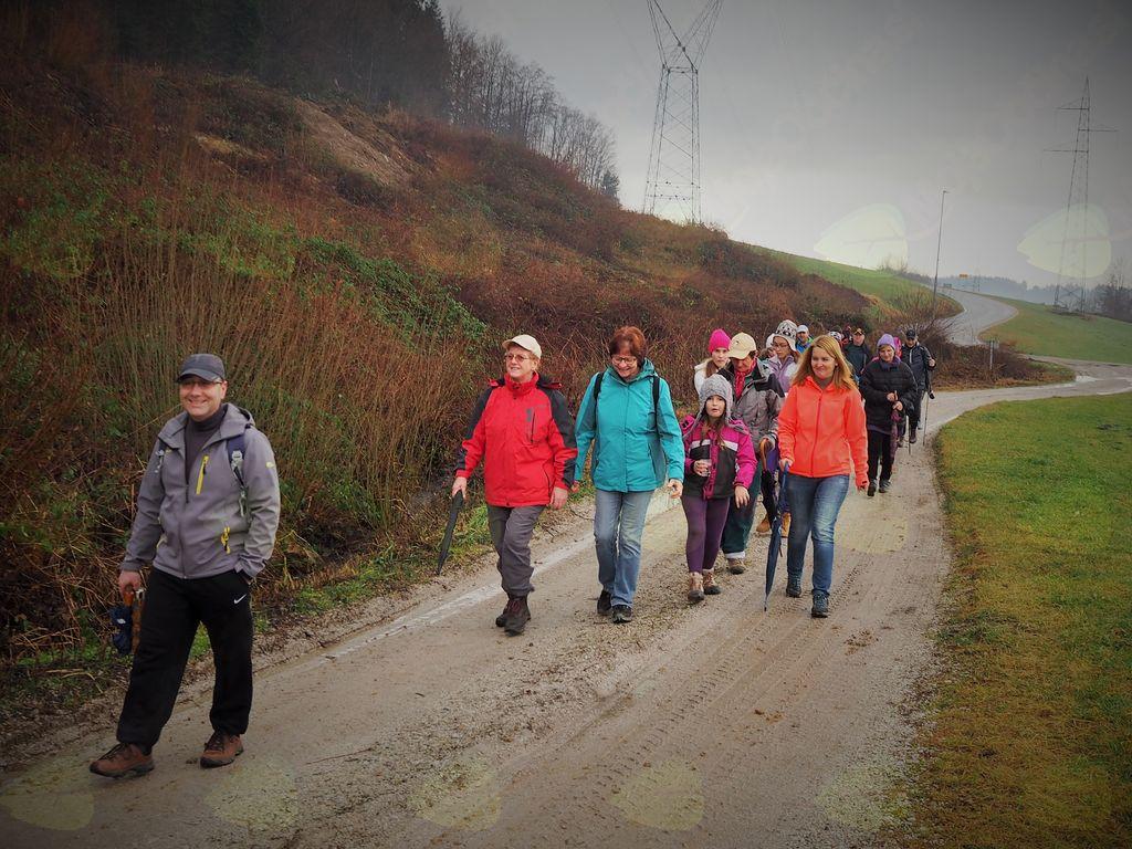 5. tradicionalni novoletni pohod po Rahuški poti