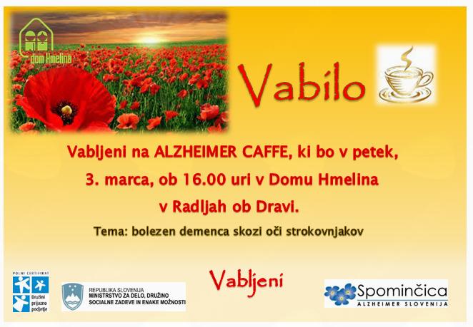 ALZHEIMER CAFE Radlje