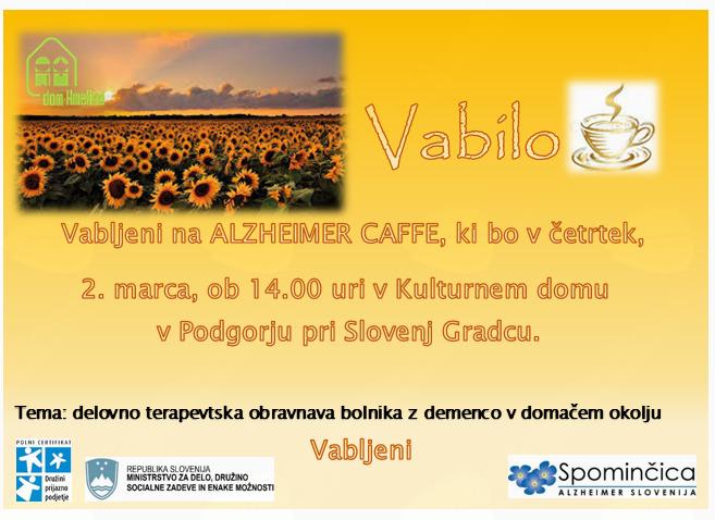 ALZHEIMER CAFE Slovenj Gradec