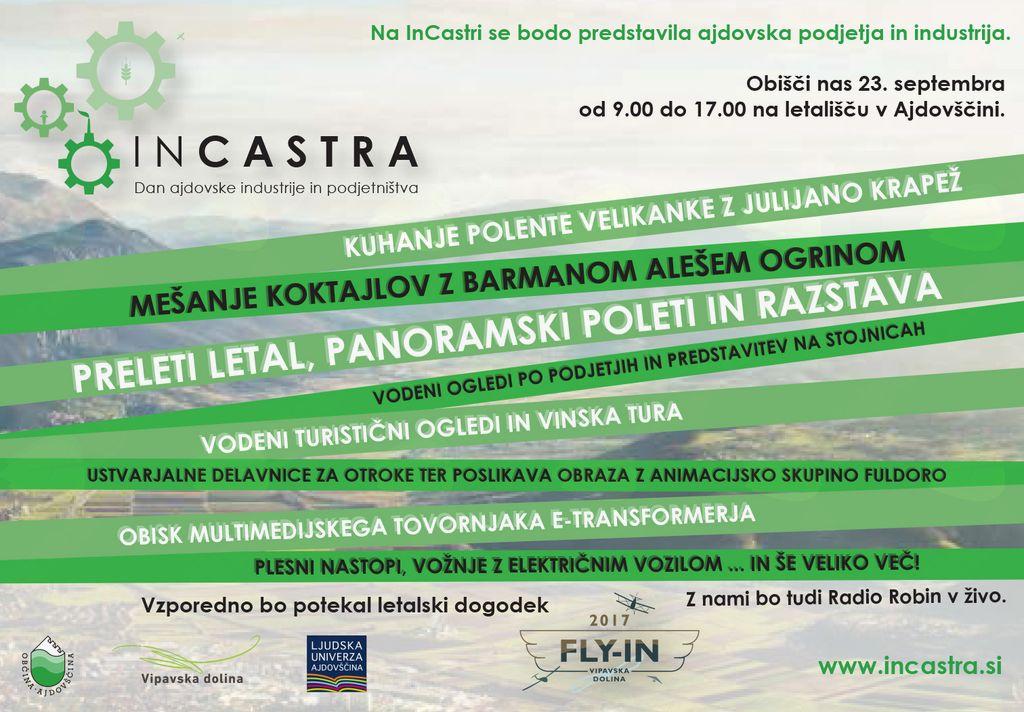 INCASTRA - Dan ajdovske industrije in podjetništva