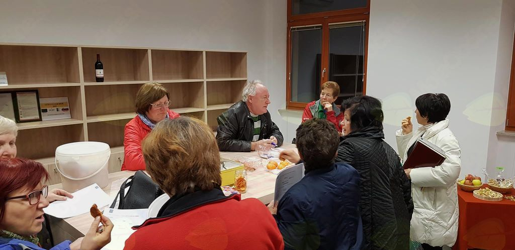 Zakladi jesenskih dobrot v Učnem centru Brje