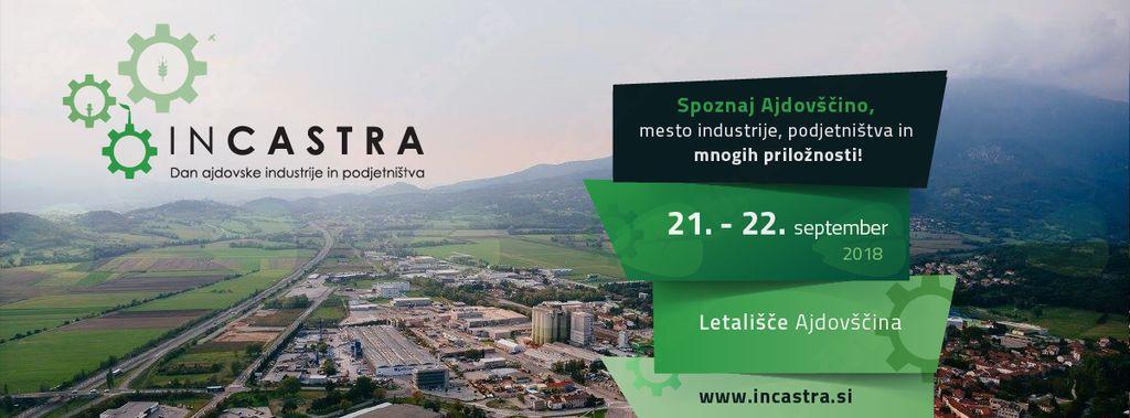 Vabilo k sodelovanju pri dogodku INCASTRA – Dan Ajdovske industrije in podjetništva