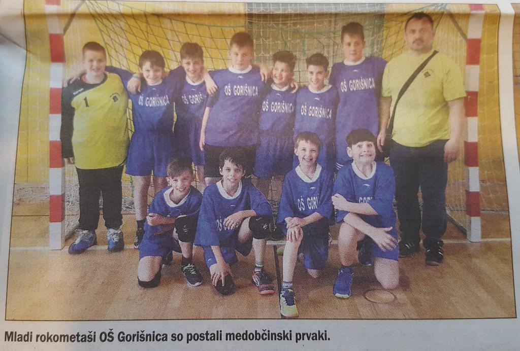 Slika naše ekipe v Štajerskem Tedniku