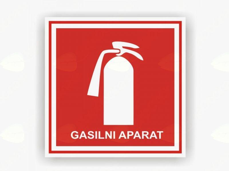 Pregled gasilnih aparatov