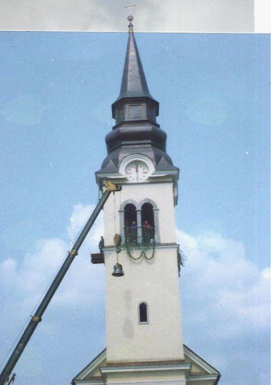 Menjava malega zvona leta 1992.