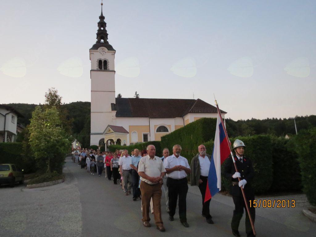 Tradicionalno srečanje prostovoljnih društev pri svetem Antonu Puščavniku, na Brezovici