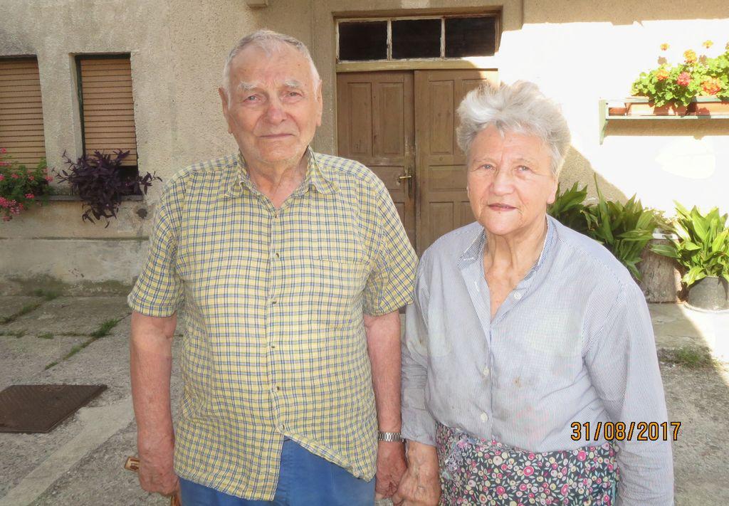 Sredi Podpeči, pri Lukmanovih, so letos praznovali 90., 80. in 60. obletnico