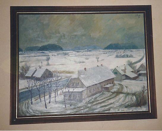 Ena od mnogih Ivanovih slik.