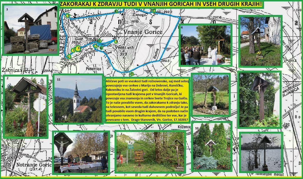 Nov korak k zdravju tudi v Vnanjih Goricah, na Brezovici in drugod